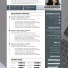 Bewerbungsvorlage Deutsch und Englisch: Deckblatt, Anschreiben, CV und Anlagen für Word & PowerPoint