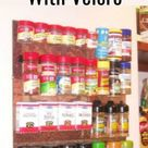 How to Make a DIY Spice Rack Using Velcro and a Picture Frame