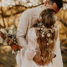 Relaxed Outdoor Wedding Vibes With 1970's Inspiration + Dried Florals