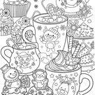 15 coloriages d'hiver à imprimer - Le Carnet d'Emma