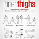 Pin by Ju on ก้น&ขา | Inner thigh workout, Thigh exercises, Fitness body