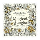 Magical Jungle : An Inky Expedition and Colouring Book
