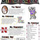 Meet the Principal Newsletter- EDITABLE