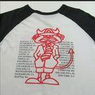 Vintage 2004 AC/DC band tour baseball tee t shirt