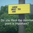 Teaching Decimals