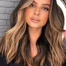 Cute Medium Length Haircuts & Hairstyles : Medium hair & cappuccino colour