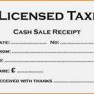 Taxi Receipt Template   EmetOnlineBlog