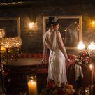 Vintage Speakeasy Wedding Inspiration   Glamour & Grace
