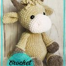 Lovely bull and cow crochet free pattern - Amigurumi Free Patterns Amigurumiday.com
