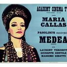 Fine Art Print. Academy Poster for Pier Paolo Pasolinis Medea
