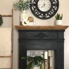 My Faux Fireplace Re-Vamp - My Home Matters, LLC