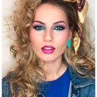 80s makeup 1980s