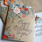 Greeting Cards Birthday