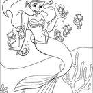 Kostenlose Malvorlagen Arielle Die Kleine Meerjungfrau