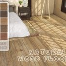Natural Wood Floor V4 by Melly20x