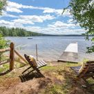Secluded cottage at Crystal Lake - Cottages for Rent in Gilmanton, New Hampshire, United States