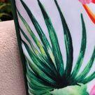 Garden Stain Resistant Tropical Cushion Throw Cover 40cm