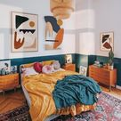 6 Teal Bohemian Bedroom Ideas That Will Pique Your Interest   Hunker
