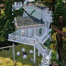 Serene tree house 🌲