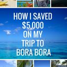 Bora Bora Vacation Cost