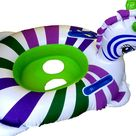 £8.75 GBP - Sea-Horse Boat , Inflatable Babies Swim Boat /Seat, With Steering Wheel, #ebay #Home & Garden