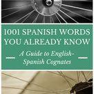 Words In Spanish
