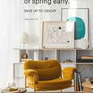 Why not start your spring cleaning early? Get a new Tylko shelf for a lot less!