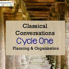 Planning & Organization for Classical Conversations Cycle 1 — Homegrown Learners
