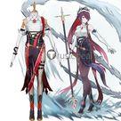 Genshin Impact Hu Tao Xiao Rosaria Cosplay Costumes
