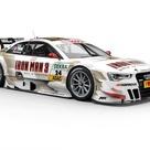 """Até o DTM Campeonato Alemão de Turismo entrou no clima de """"Homem de Ferro 3"""". O Audi RS5 de Adrien Tambay terá uma pintura especial na primeira etapa da temporada 2013, marcada para este final de semana em Hockenheim."""