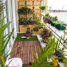 Balcony makeover   english studio earthbox country style balcony, veranda & terrace   homify
