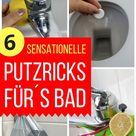 Tolle Tipps, um Zeit beim Badputzen zu sparen: Toilette, Armaturen, Dusche, Badewanne etc. mit Essig