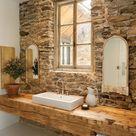 Waschtisch Holz für Aufsatzwaschbecken bauen - Von modern bis rustikal