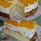Pfirsich - Joghurt Torte mit Vanillehauch von Seelenschein   Chefkoch