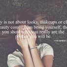 True Beauty Quotes
