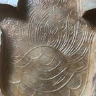 Latex Mould to make this Large Hamsa Hand Wall Plaque Ornament, Hand of Fatima, Arts and Crafts