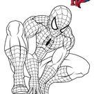 Coloriage Spiderman 3 En Reflexion Dessin Spiderman à imprimer