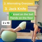 Ultimate Core Workout Utilizing an Exercise Ball