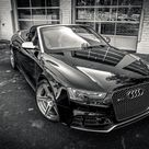 2014 Audi RS5 Cabriolet with Capristo Exhaust sitting on 20