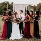 Multiple Types New Autumn Long A-Line Wedding Guest Dresses Bridesmaid Dresses, WGM060