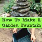 Diy Fountain