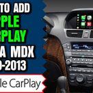 Acura MDX Apple CarPlay   How To Add Apple CarPlay Acura MDX 2010 2013 NavTool Video Interface DVD
