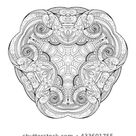 Similar Images, Stock Photos & Vectors of Hand drawn doodle zentangle lion illustration. Decorative ornate vector lion head drawing for coloring book - 479741074