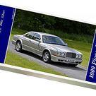 1000 Piece Puzzle. Bentley Continental R, 2002, Silver