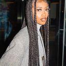 Big box braids - Tutorials for short hair