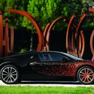 Bugatti Veyron Grand Sport Bernar Venet Edition   Bonjourlife