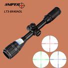 US $41.58 |SNIPER 3 9X40 AOL Optical Sight Riflescope Full Size Red Green Blue Mil Dot llluminate Equipment Hunting Tactical Rifle Scope|hunt search|equipment typeequipment bench - AliExpress