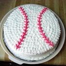 Baseball Birthday Cakes
