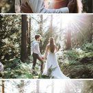 Wildromantisches Elopement Wedding Shooting mit Astilben