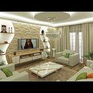 Best 100 modern living room decorating ideas - POP ceiling design for hall 2021
